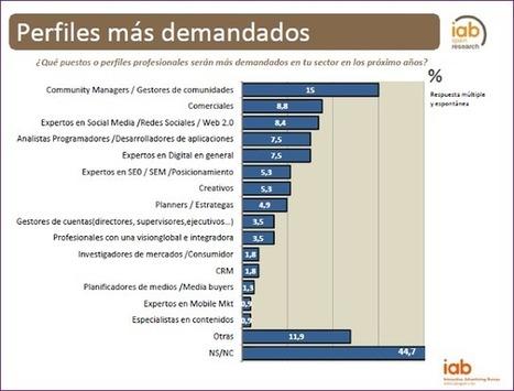 Perfiles 2.0 más demandados (España) #infografia | EMPRENDE desde la periferia. La red social SITETALK como oportunidad de negocio | Scoop.it