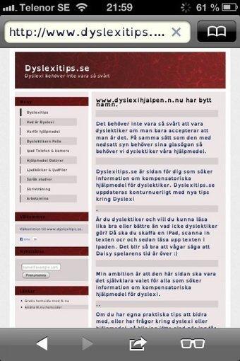 Hjälp av Datorn | Dyslexitips.se | Skolbiblioteket och lärande | Scoop.it