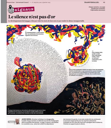 Le silence n'est pas d'or - Infographie | Autour de la Psychologie positive | Scoop.it