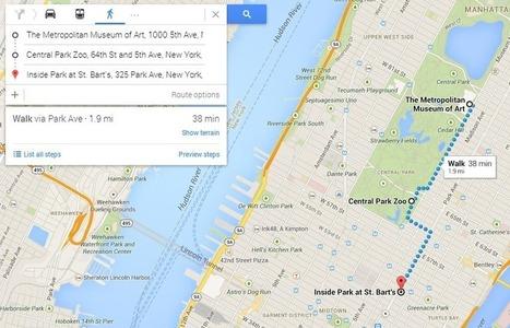 5 trucos para sacar el máximo partido de Google Maps - Adslnet.es | Zonda | Scoop.it