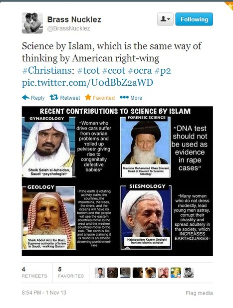 Twitter / BrassNucklez: Science by Islam, which is ... | Atheism | Scoop.it