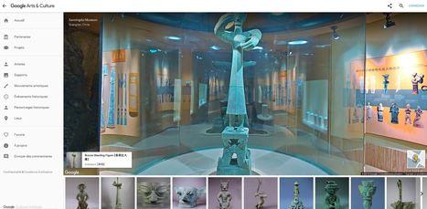 Institut Culturel Google a dévoilé les 1 400 nouvelles œuvres Sanxingdui Museum 三星堆博物馆 - Google Arts & Culture | Veille numérique, pédagogie et CDI | Scoop.it