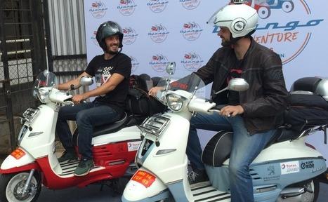 125 Scooters of Peugeot Django will Ride Across India   365 Hops-Adventure Tours   Scoop.it