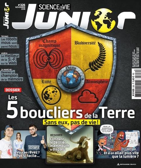 Science et vie junior n°326 - Novembre 2016 | Abonnements  CDI | Scoop.it