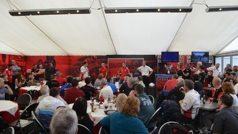 Ducati UK Race Hospitality 2015 | Ductalk Ducati News | Scoop.it