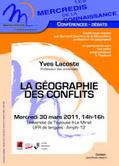 Cafés géographiques : Vidéo : Géographie des conflits (Yves lacoste)   Nuevas Geografías   Scoop.it