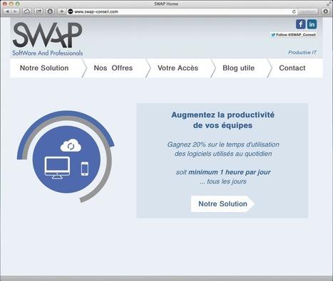 SWAP fait sa mue | Gagner une heure par jour | Scoop.it