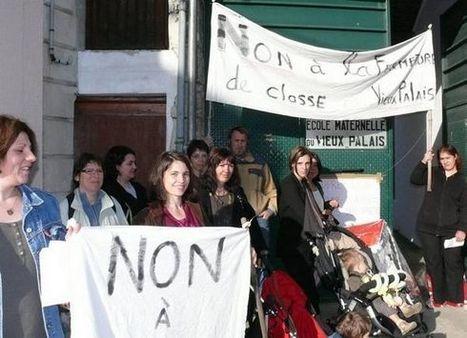 Nouvelle République : Les parents en colère à l'école du Vieux-Palais - éducation | ChâtelleraultActu | Scoop.it