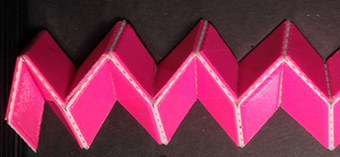 Adding a topological fold to origami metamaterials | Amazing Science | Scoop.it