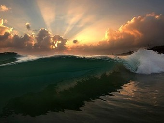Wave Picture -- Sunrise Photo -- National Geographic Photo of the Day | Aardrijkskunde | Scoop.it