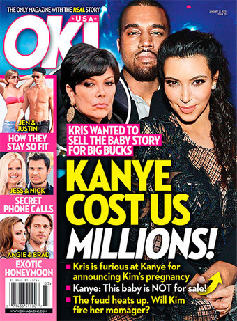 USA OK! Magazine January 2013 | Magazines Cover Girl | Scoop.it