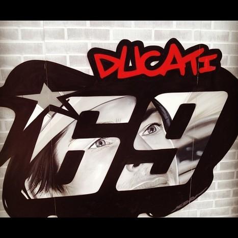 Nicky Hayden's photo | Instagram | bus stop 5434 | Ductalk Ducati News | Scoop.it