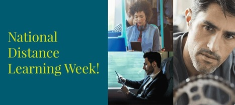2016 National Distance Learning Week Nov 7 -11  Webinars  from Pearson | Distance Education & Open Learning | Scoop.it