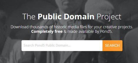 Miles de archivos históricos y contenido multimedia de dominio público para nuestros proyectos | Investigación: métodos y herramientas desde las NTIC | Scoop.it
