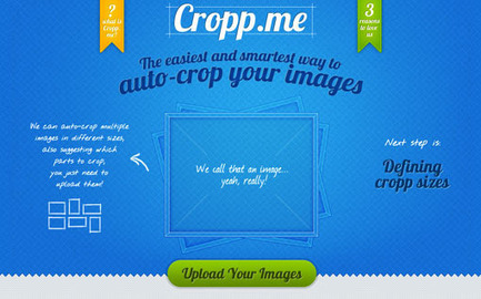 Redimensionner des images à la volée avec Cropp.me | New Tools | Scoop.it