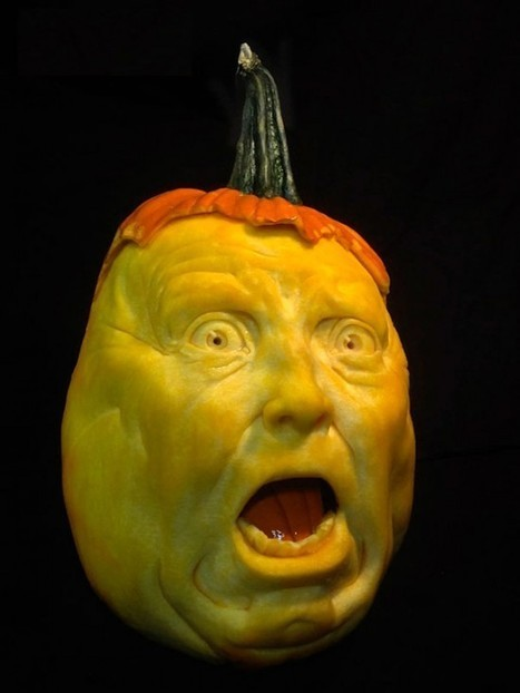 Jon Neill Creates the Most Amazing Pumpkin Carvings You've Ever Seen | Strange days indeed... | Scoop.it