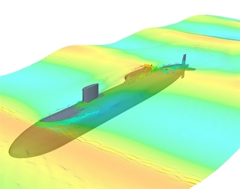 CFD Predicting Impact Loading of a Hydrodynamic Wave on a Submarine | Shock Physics | Scoop.it