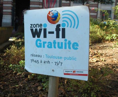 [Carte] De nouveaux points Wi-Fi gratuits à Toulouse | Toulouse networks | Scoop.it