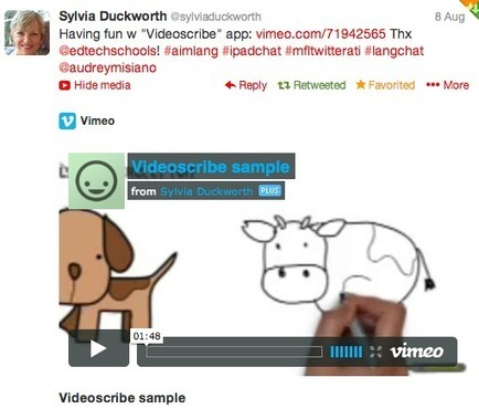 Videoscribe = Pure Genius! | Technology and language learning | Scoop.it