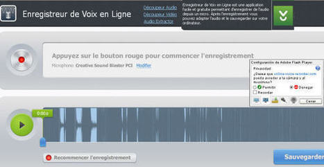 Enregistrer notre voix en ligne: Soundcloud, AudioBoo, Record MP3, Podomatic, Vocaroo, | Education, Mooc, Innovation | Scoop.it