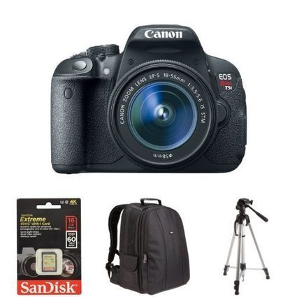 Buy Canon EOS Rebel T5i Digital SLR with 18-55mm STM L Now || Best Price || Made by | Nothing But News | Scoop.it