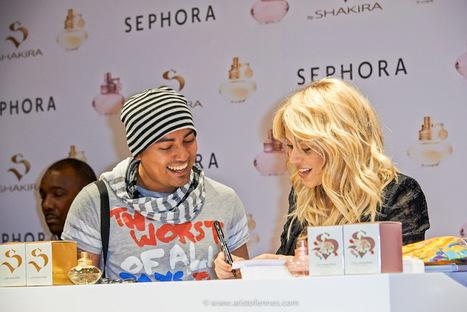 Shakira paris -Lanzamiento de Perfumes en sephora   Cibercultura   Scoop.it