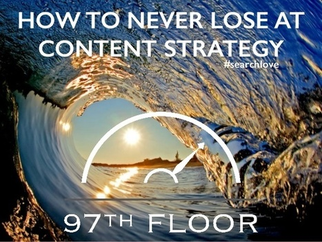 How To Never Lose at Content Strategy | Social Media Strategies | Scoop.it