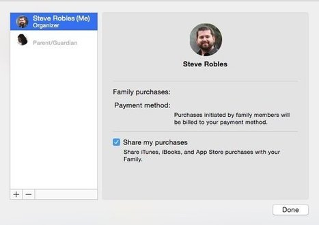 How to enable and manage iCloud Family Sharing on iOS and OS X | Apple Insider | How to Use an iPad Well | Scoop.it