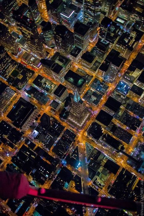 Breathtaking Aerial Night Photography of San Francisco Captured From a Helicopter | pixels and pictures | Scoop.it