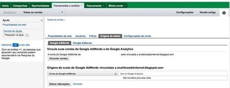 Vinculando o Google AdWords ao Google Analytics em sua nova ... | Web Analytics and Web Copy | Scoop.it