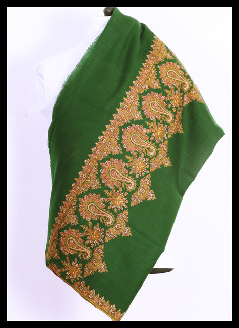Pashmina Embroidery | Shawl Wrap | Buy Shawl Online | Furbox | LINKSMOSEO | Scoop.it