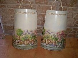 Tutorial de Artesanías: Tejas decoradas | Reciclando un poco! | Scoop.it