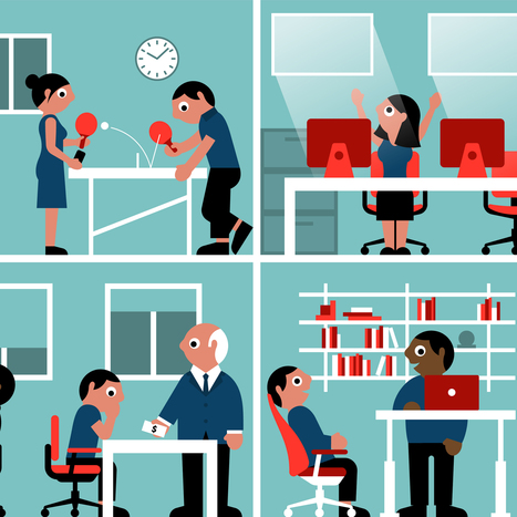 "Workplace design ""can help workers feel happier"" says report by Haworth 
