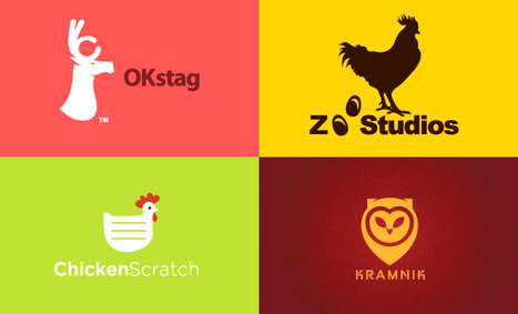 40 Animal themed Logo Design examples | Design, social media and web resources | Scoop.it