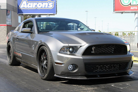 Shelby 1000 debuts at the drag strip but no track times | Mustang ... | Mustangs | Scoop.it