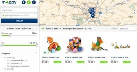 Mappy se repositionne sur le web-to-store | Web to Store & Commerces connectés | Scoop.it