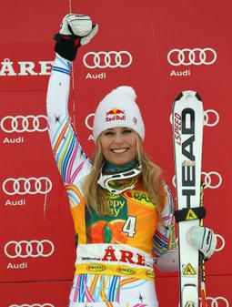 Lindsey Vonn recupera a coroa e leva o tetra da Copa do Mundo de esqui | esportes | Scoop.it