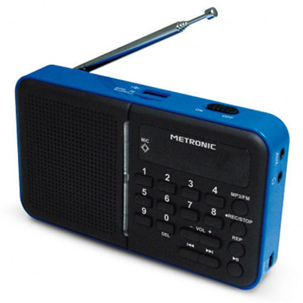 Metronic Radio Portable MP3 Bleu – MP3 | High-Tech news | Scoop.it