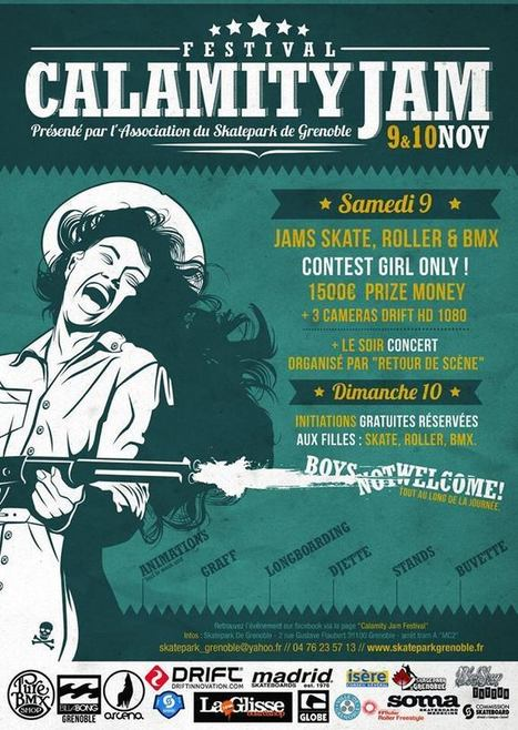 Calamity Jam Festival | Facebook | GRECOOL : Grenoble is cool | Scoop.it