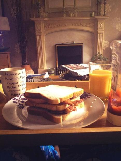 Twitter / IwanRees93: Breakfast for typical athlete ... | Fitness | Scoop.it