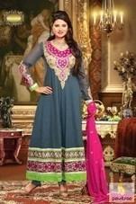 Kratika Sengar Embroidery Anarkali Dress   Pavitraa   Scoop.it