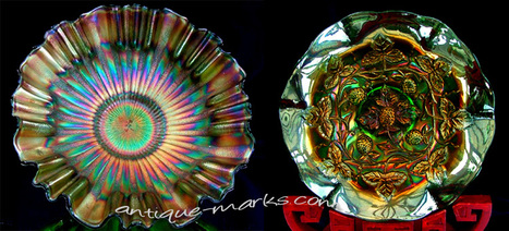Collecting Carnival Glass .. The Poor Mans Tiffany? | Antique Pottery & Porcelain Marks | Scoop.it