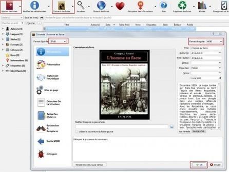 Comment convertir des ebooks au format Kindle avec Calibre | Ballajack | Veille en médiathèque | Scoop.it