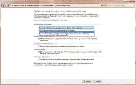 Configura de forma adecuada las actualizaciones de #Windows7 - #Update #OS | Desktop OS - News & Tools | Scoop.it