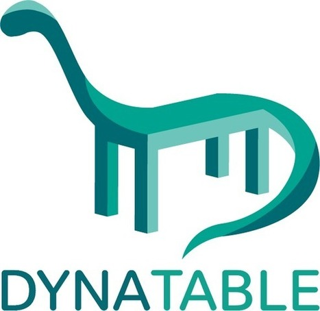 Dynatable.js - jQuery plugin for HTML5+JSON interactive tables and more | .Net Web Development | Scoop.it