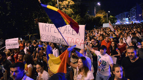 Cyanide pollution fears: Thousands of Romanians protest 'biggest in ... | Gold and Antimony - Environmental Harm | Scoop.it