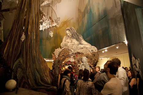 "My Thoughts on Swoon's ""Submerged Motherlands"" At The Brooklyn Museum 