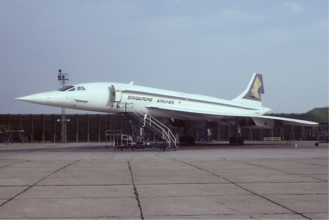 Concorde with Singapore Airlines | Aviation | Scoop.it