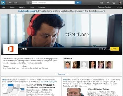 LinkedIn Showcase Pages: Target Your Content - Profs   #TheMarketingTechAlert   Content Marketing Guru   Scoop.it