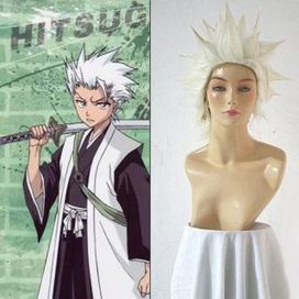 Toushiro Wigs, Bleach 10th Division Toushiro Hitsugaya Cosplay Wig -- CosplaySuperDeal.com   cosplaysuperdeal   Scoop.it